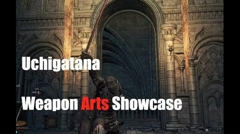 Dark Souls 3 Uchigatana - Weapon Arts Showcase