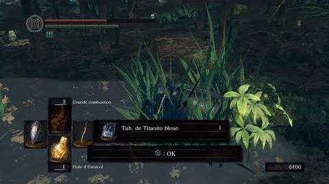 DARK SOULS REMASTERED - Blue Titanite Slab location (Royal Wood)