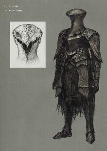 Закопченный Рыцарь Лойс Концепт-арт
