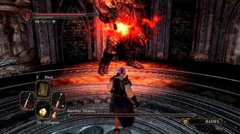 Dark Souls 2 - Smelter Demon (Melee) Power Stance