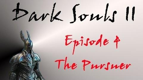 Dark Souls II - Walkthrough 4 - The Pursuer Boss Fight