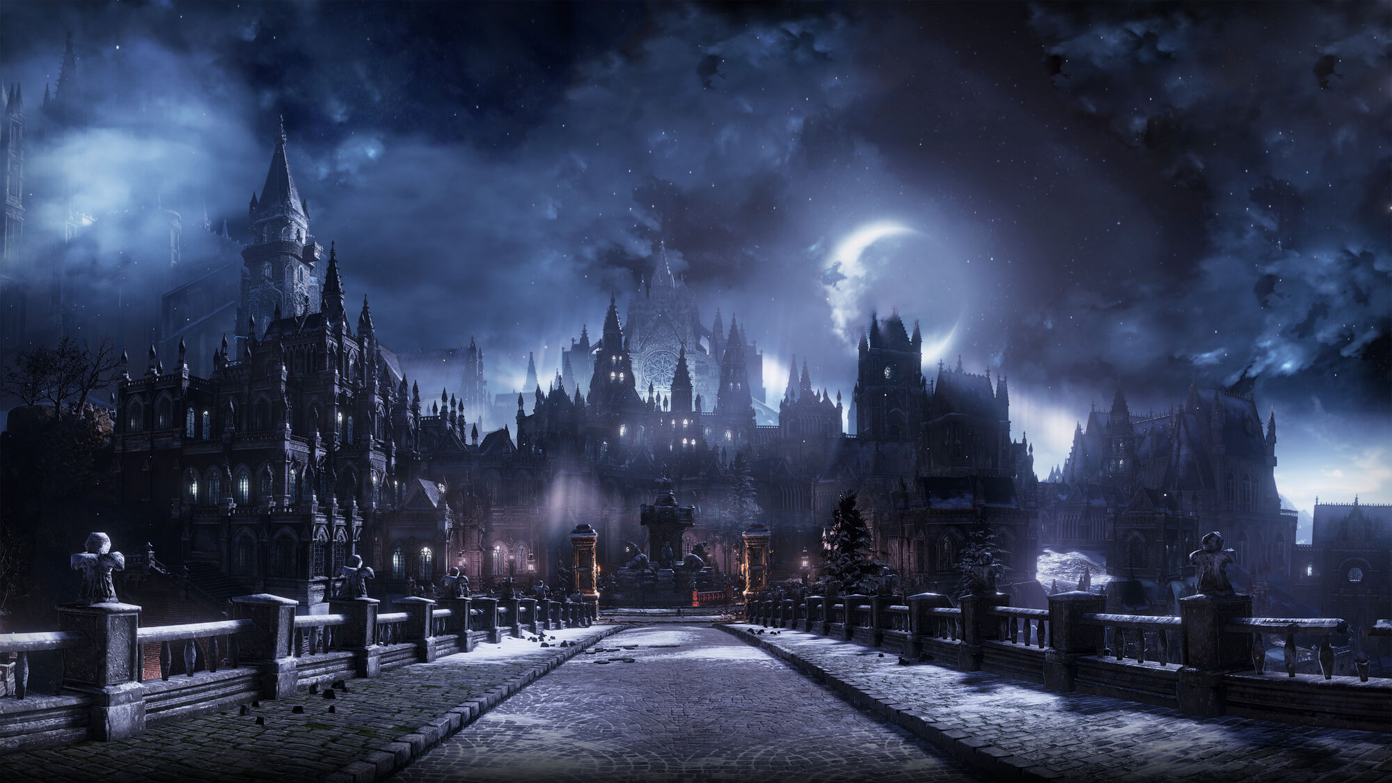 The Ringed City Wallpaper: Irithyll Of The Boreal Valley