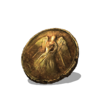 Rusted Gold Coin