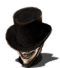 Snickering Top Hat