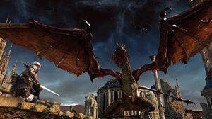 Битва с Драконом-Стражем - Dark Souls II