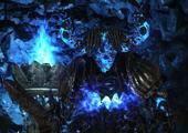 Демон Плавильни синий
