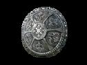 Железный круглый щит