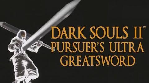 Dark Souls 2 Pursuer's Ultra Greatsword Tutorial (dual wielding w power stance)