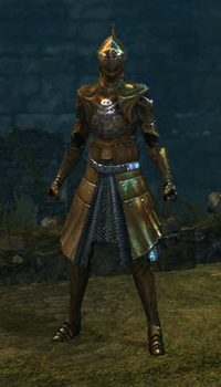 Brass set female