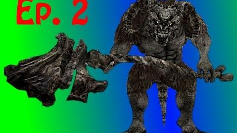 Dark Souls - Undead Burg Walkthrough Taurus Demon Boss!-0