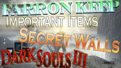 Dark Souls 3 Farron Keep - Hidden Walls And SECRETS Walkthrough