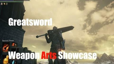 Dark Souls 3 Greatsword - Weapon Arts Showcase