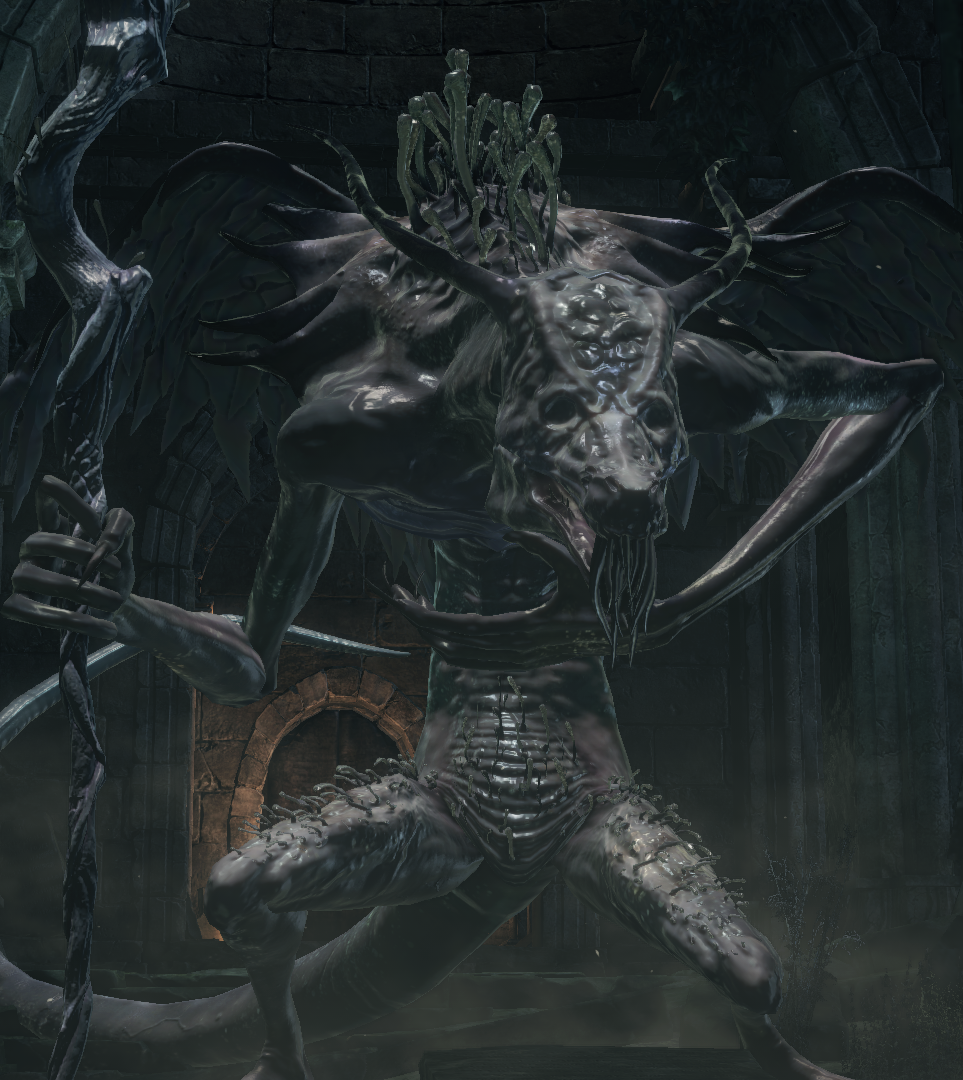 Oceiros, the Consumed King   Dark Souls Wiki   FANDOM