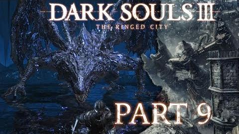 Dark Souls 3 The Ringed City NG BLIND - Part 9 - Darkeater Midir, The Abyss Dragon-3