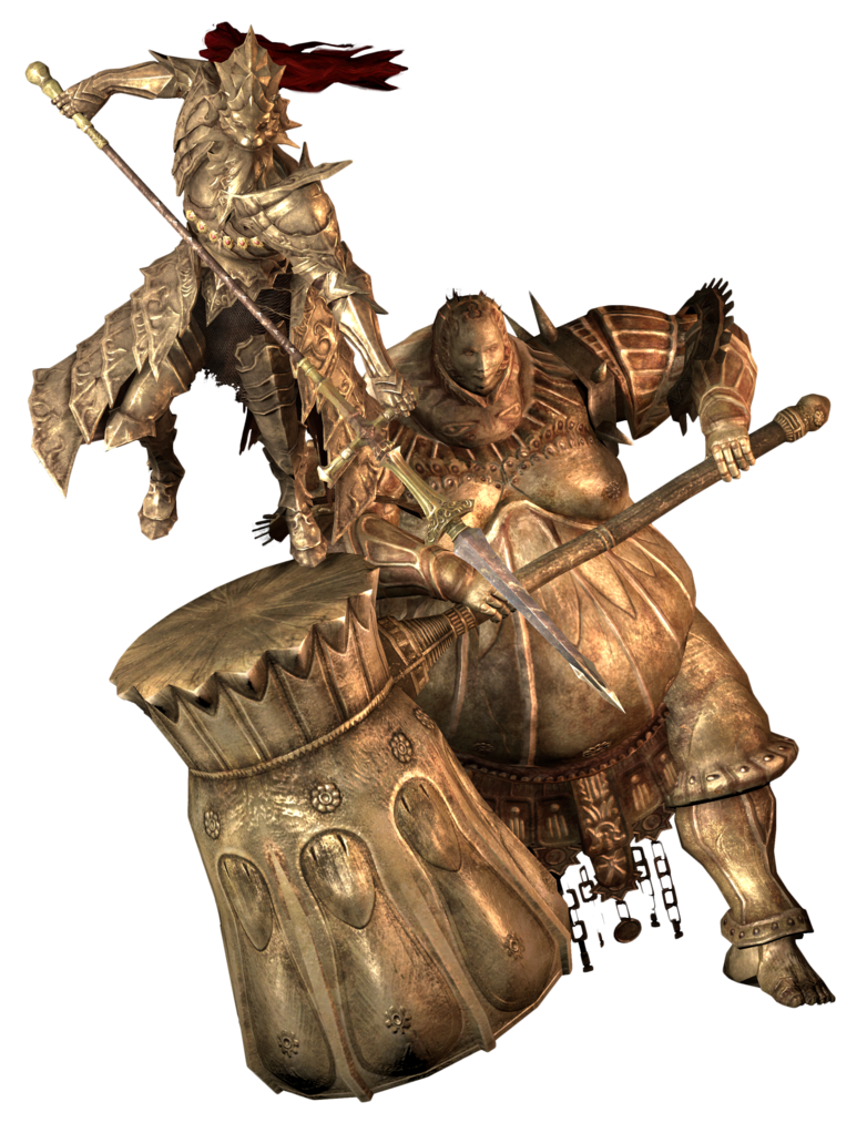 Dragon Slayer Ornstein And Executioner Smough Dark Souls