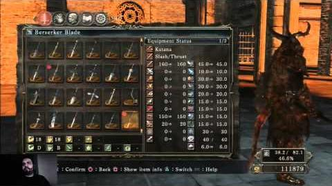 Dark Souls 2 - How to get Berserker Blade and Mad Warrior Armor