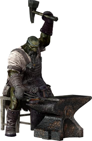 Image - Blacksmith Lenigrast Render.png | Dark Souls Wiki ...