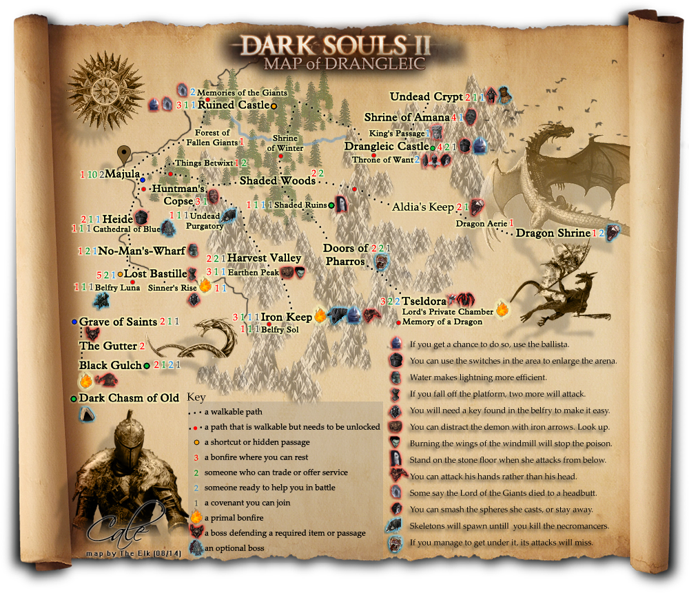 Map Of Dark Souls 2 Category:Dark Souls II: Locations   Dark Souls Wiki   FANDOM  Map Of Dark Souls 2