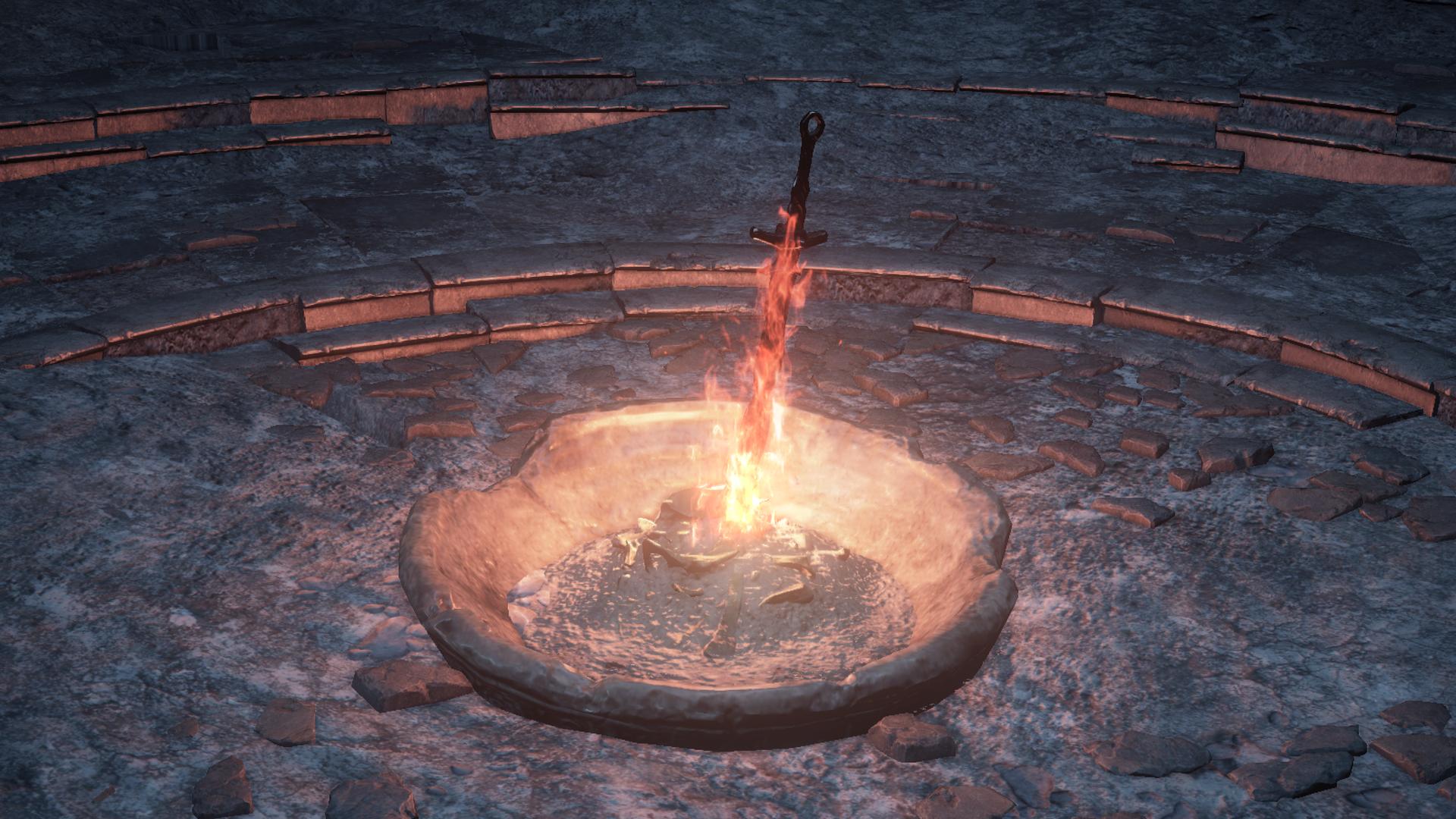 Bonfire Dark Souls Iii Dark Souls Wiki Fandom