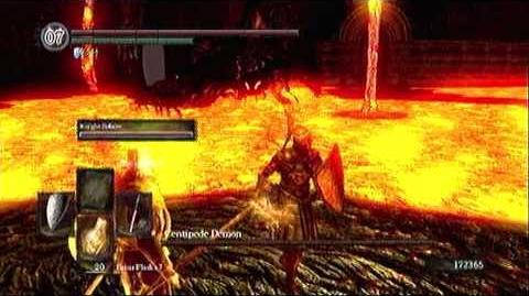 Dark Souls - Centipede Demon (Boss Fight)