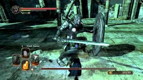 Dark Souls 2 - Looking Glass Knight (Melee)
