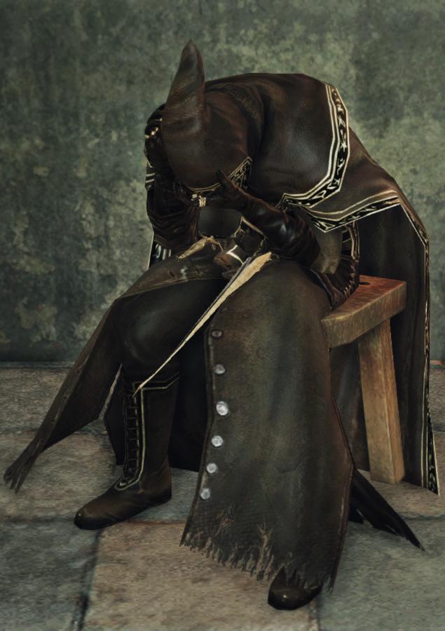 dark souls wizard