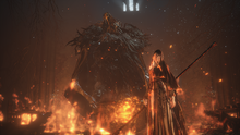 Sister Friede and Father Ariandel