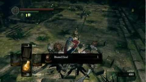 Dark Souls - Silver Pendant Location Demonstration (DLC)