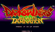 Darkstalkers Jedahs Damnation hack title screen