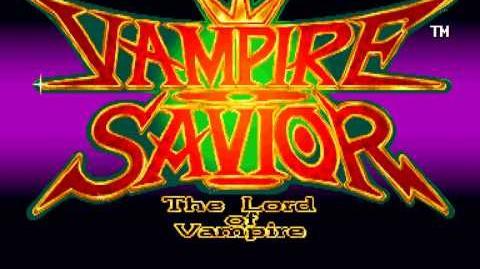 (Demo) ヴァンパイアセイヴァー Vampire Savior (C)Capcom 1997
