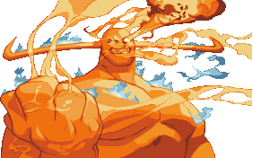 Darkstalkers 3 Pyron Winning Portrait
