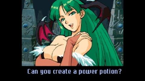 GunBird 2 (SEGA DREAMCAST) Play as Morrigan from Darkstalkers