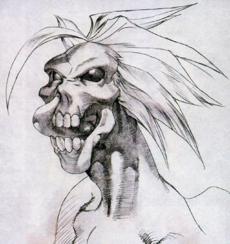 Vampire Savior Lord Raptor sketch