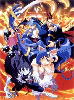 Night Warriors OVA Group Promo