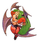 Morrigan Super Puzzle Fighter II Turbo 01