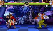 Night Warriors Donovan vs Victor