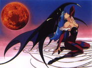 Night Warriors OVA Morrigan Promo