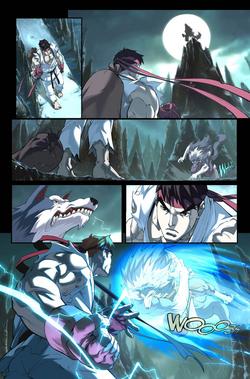 Capcom Fighting Jam Ryu ending