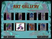 Darkstalkers Collection Art Gallery Screen
