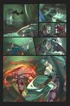 Capcom Fighting Jam Demitri ending