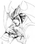 Darkstalkers 3 Jedah Opening Sketch