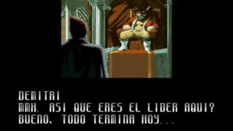 Snk Vs Capcom Chaos - Demitri Ending 2° Español