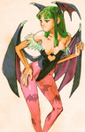 Marvel vs Capcom 2 Morrigan 02