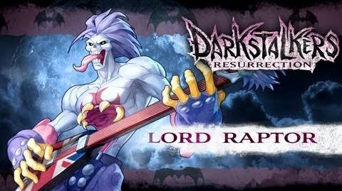 Darkstalkers Resurrection - Lord Raptor