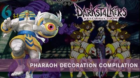 Darkstalkers Resurrection Anakaris Pharaoh Decoration Compilation
