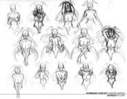 Darkstalkers The Ultimate Edition full cover sketches