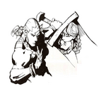 Donovan Anita Night Warriors Saturn artwork