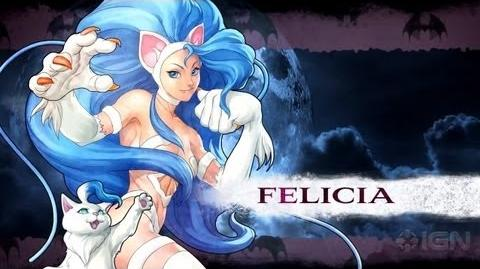 Darkstalkers - Felicia Moves List