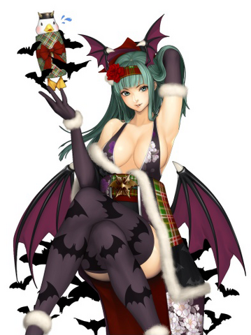 Archivo:Onimusha Soul Morrigan Christmas.png