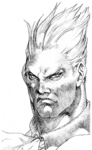 Darkstalkers 3 Demitri Sketch